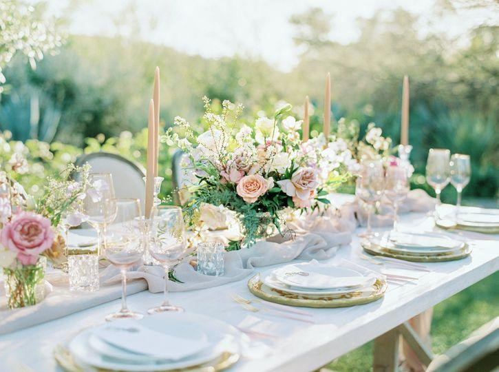 El Chorro Wedding Dinner