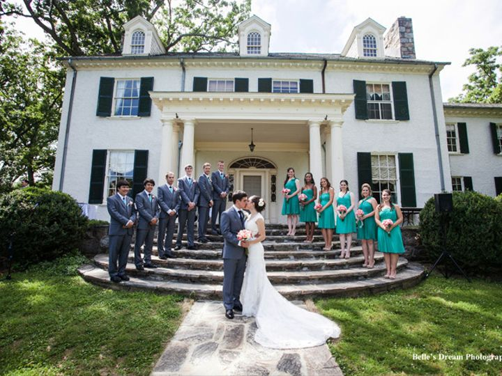 Tmx 1398351572719 Belles Dream Wedding Party On Portico Step Leesburg, VA wedding venue