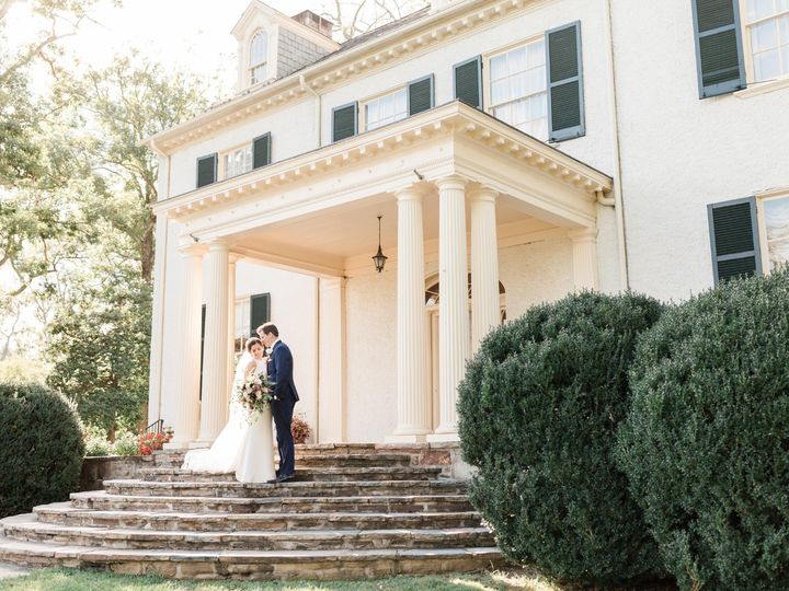 Tmx House With Bride And Groom On Steps Alicia Lacey Photography 51 56245 1570285184 Leesburg, VA wedding venue
