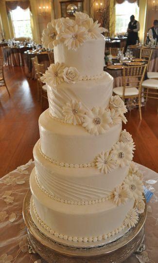 Pretty tall cake