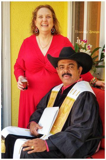 Ranji and wife Lisa
