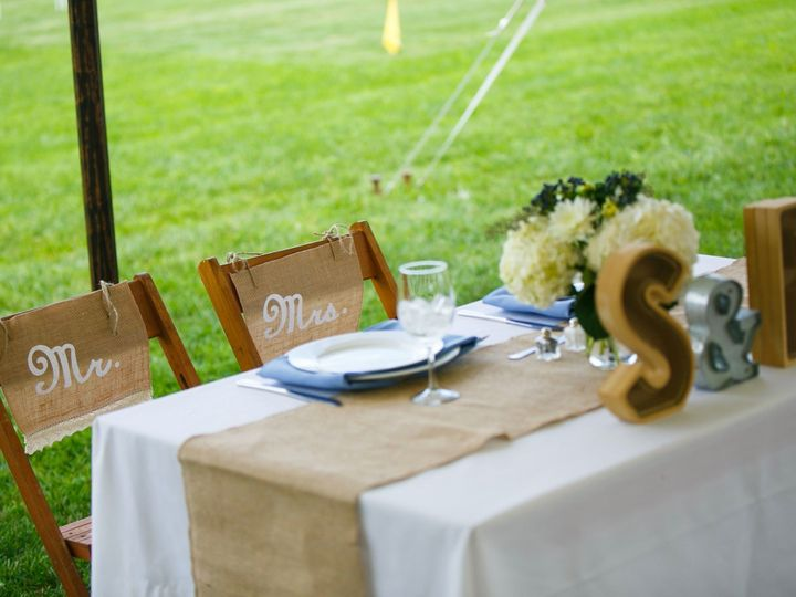 Tmx 1496947419888 Stillwater Bride And Groom Table Center Moriches wedding catering