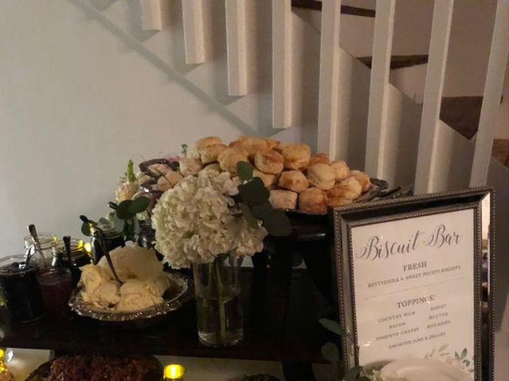 Tmx 1532549177 D7f010f81bf72972 1532549176 3d778f47b880be57 1532548809874 7 Biscuit5 Louisburg, NC wedding catering