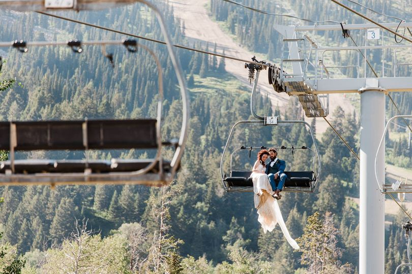 Jackson Hole Ski Wedding