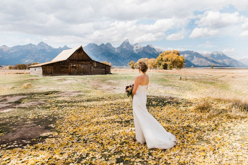 Fall Jackson Hole Bride