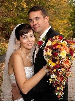 harman wasik bride and groom