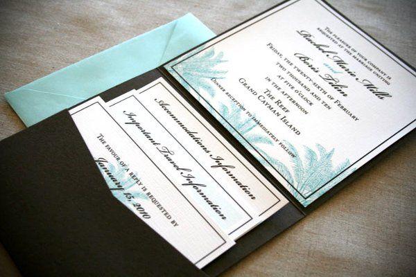 Rachel & Boris: Destination Wedding Invitations