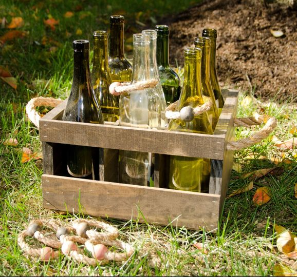 Wine Bottle Ring Toss Lawn Game