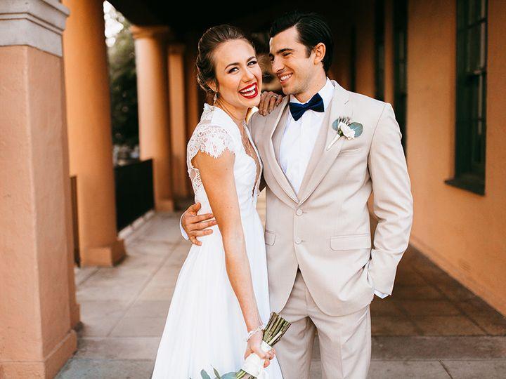 Tmx 1506717510540 San Diego Big Fake Wedding Shoot At Brick Bride An Anaheim wedding dress