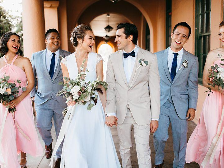 Tmx 1506717516435 San Diego Big Fake Wedding Shoot At Brick Bride An Anaheim wedding dress
