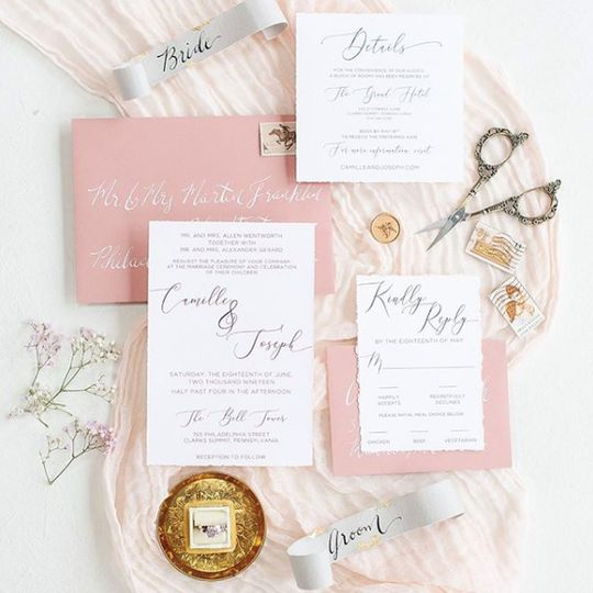 Siena wedding invitation