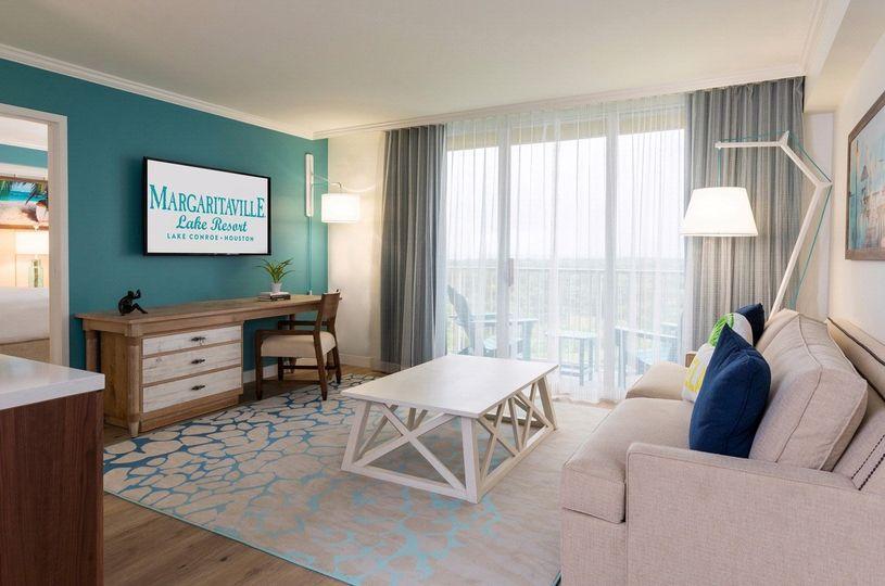 Bright and airy guest suites