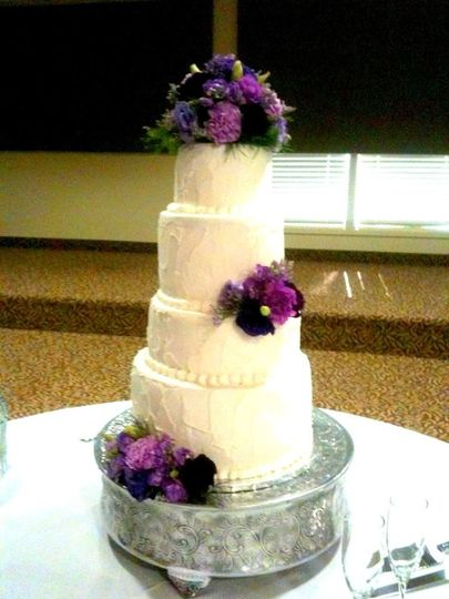 Just Cakes By Terra - Wedding Cake - Dallas, TX - WeddingWire