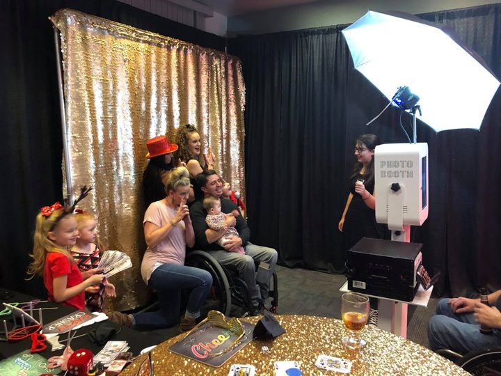 Our photobooth is fun!