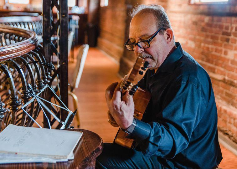 Larry Del Casale Performing