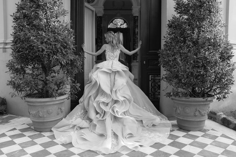 Grand gown by Marcela De Cala