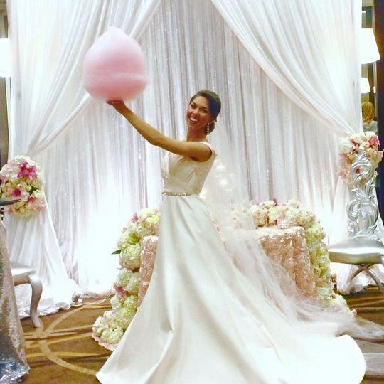 Spin Wheels Cotton Candy Cart - Wedding Cake - Nashville, TN ...
