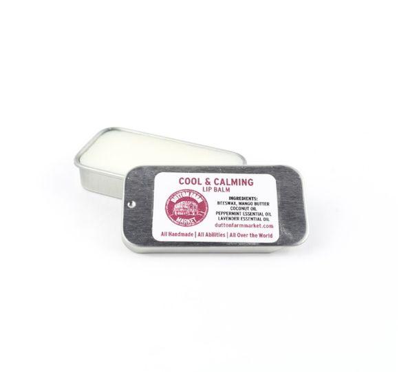 One of eight lip balms