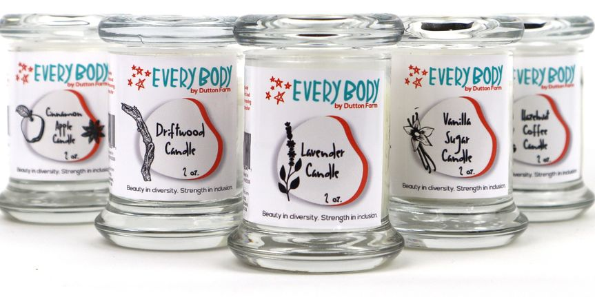 Votive candle collection