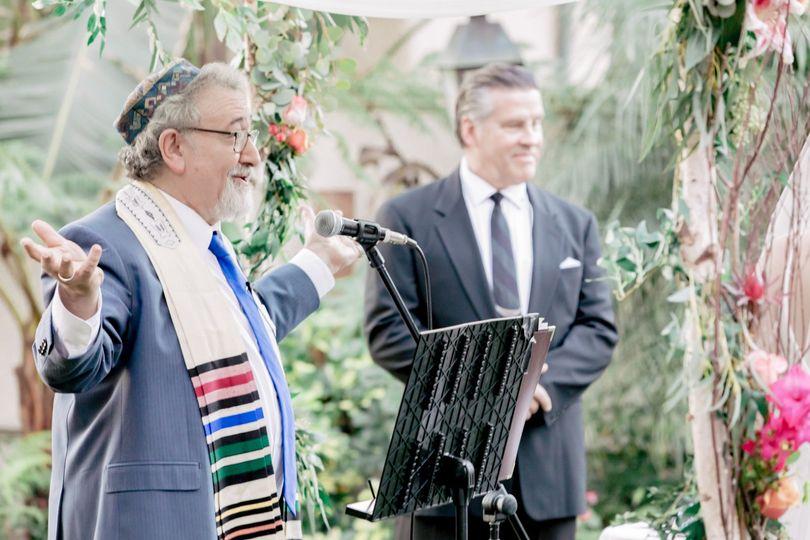 Interfaith Cantor Marc Bachrac