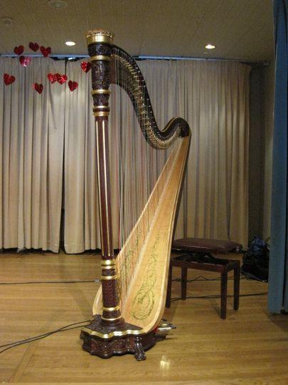 Harp for Velentine's Day!