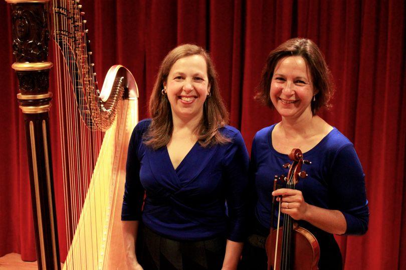 Harp and Violin