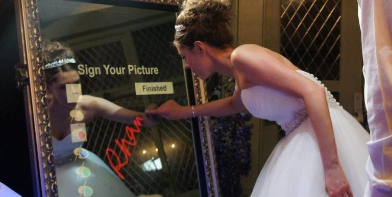 Sign your photo before it prints for additional personalization