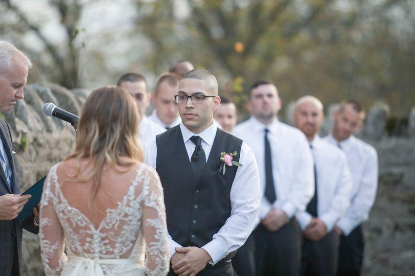 Wedding ongoing