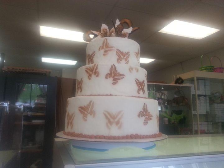 Tmx 1377797685847 Butterflyweddingcake Kansas City wedding favor