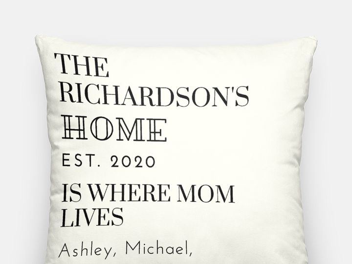 Tmx Artisan Pillow Case 20 Inch Home Is Example 51 1969345 159605595383499 Plano, TX wedding favor