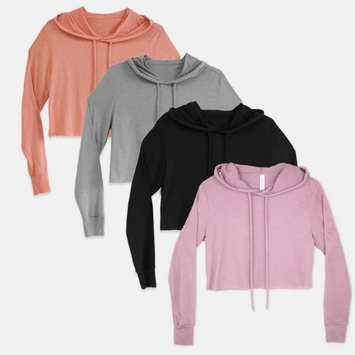 Tmx Bella Canvas Cropped Hoodie 8512 Swatches 1 51 1969345 159002995825032 Plano, TX wedding favor