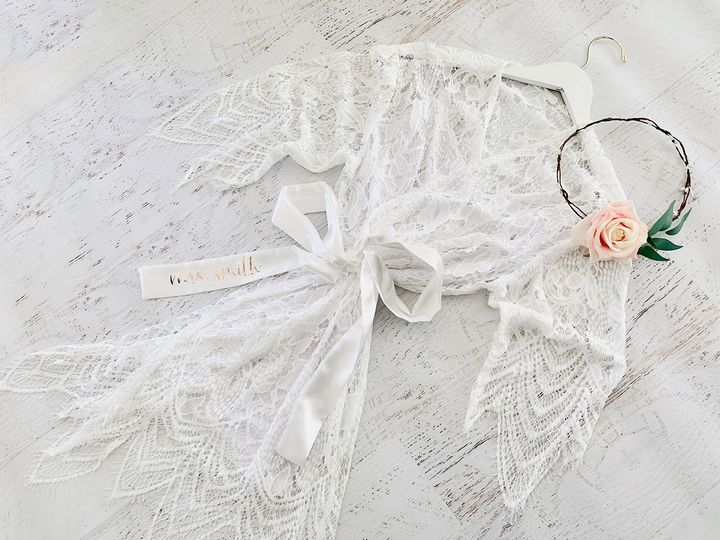 Tmx Event Blossom Eb3321p Personalized Lace Robe 51 1969345 159605595384389 Plano, TX wedding favor