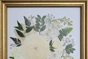 Treasured Memories Pressed Flower Art