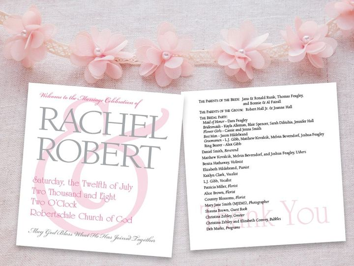 Tmx 1524764181 A6d47a9dee409cb8 1524764180 1f7f843bafb8e667 1524764178366 2 RachelInvite New Cumberland, PA wedding invitation