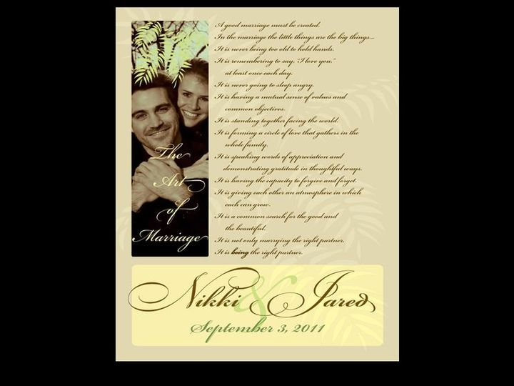 Tmx 1524773164 01c1d83ccc24b2eb 1524773163 Ba6cae3f16485305 1524773162932 3 Jared New Cumberland, PA wedding invitation