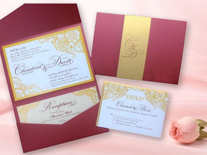 Tmx 1532373667 2ba0eb7d992fcf68 1532373666 E0936d2f63f04a02 1532373663748 1 WagCamFinal New Cumberland, PA wedding invitation