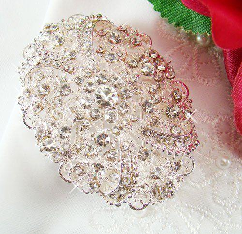 bridal brooch
