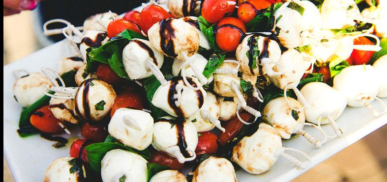 Caprese Passed hors d'oeuvres