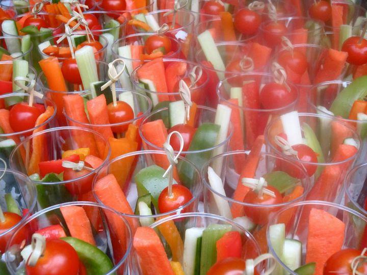 Tmx 1404914323549 Veggies In Cups Derby, CT wedding catering