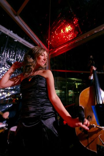 "Italian Swing and Jazz Band performing at Casta Diva Resort, Lake Como. Event: Karen Tran ""The..."