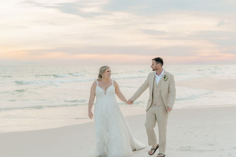 Alycia & Coreys Destin Wedding
