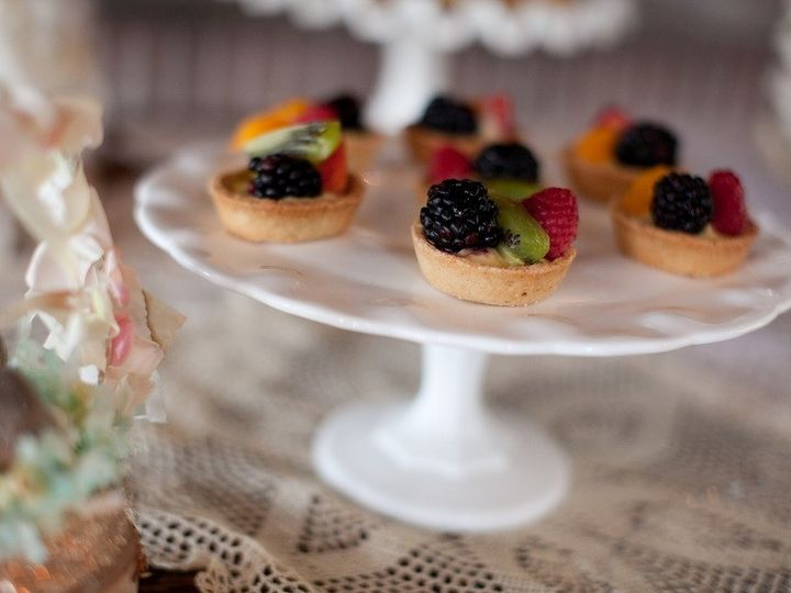 Tmx 1402347583715 Cakestand Milkglass1 North Charleston wedding rental