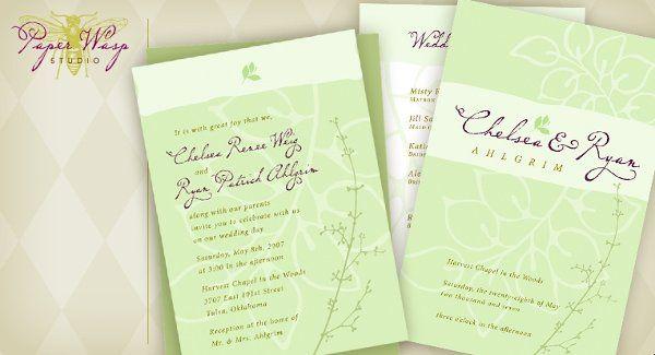 Tmx 1216827306924 Ahlgrim Bixby wedding invitation