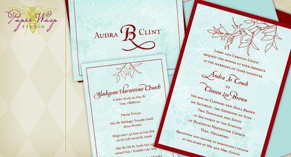 Tmx 1216827341784 Brown Bixby wedding invitation