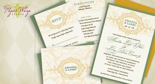 Tmx 1216827365362 Covert Bixby wedding invitation