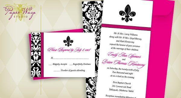 Tmx 1216827518799 Konieczny Bixby wedding invitation