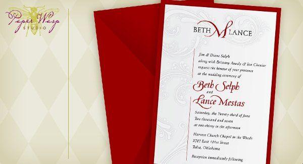 Tmx 1216827677409 Mestas Bixby wedding invitation