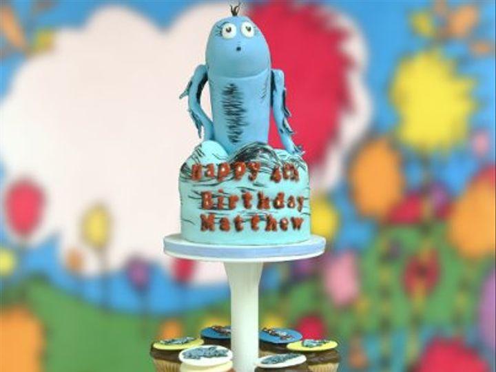 Tmx 1280777372242 Bluefish Woodside wedding cake