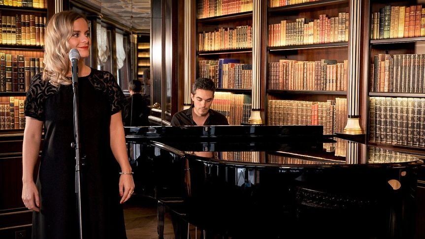 French duo pianist & singer