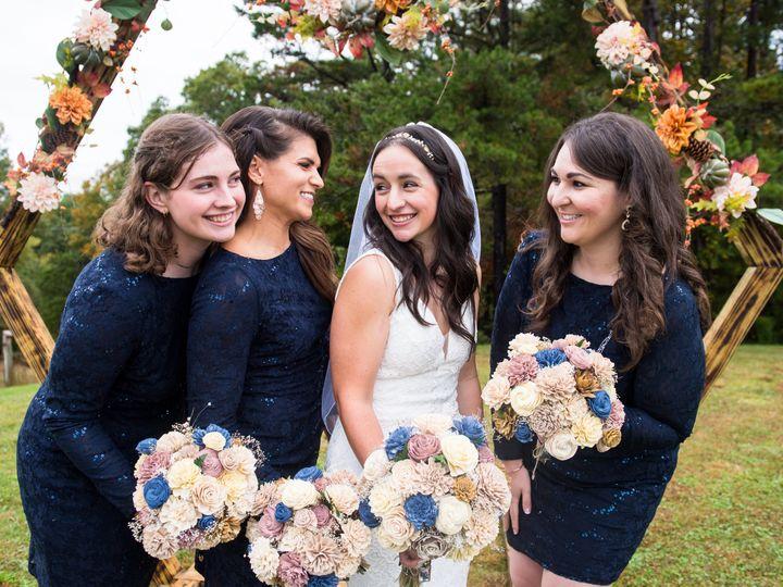 Tmx Events Bridesmaids Look Each Other 51 1885445 160934756458657 Weaverville, NC wedding venue